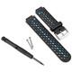 Garmin FR 620 Ersatzband Black/blue