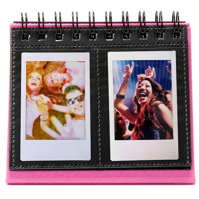 Fujifilm Instax Twin Mini Flip Album Flamingo Pink
