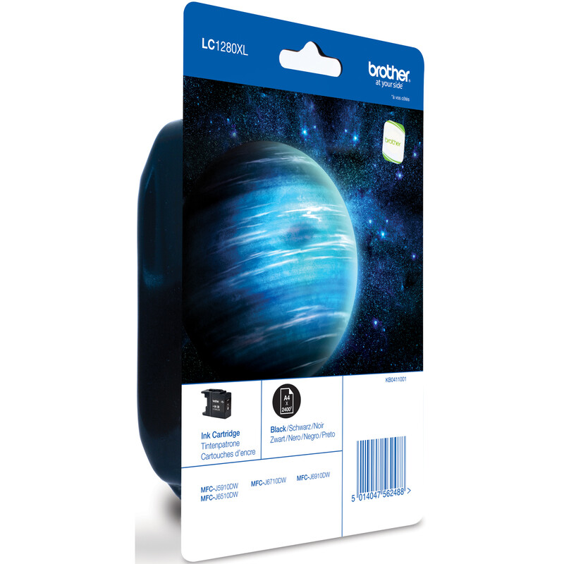 Brother LC-1280XLBK Tinte black