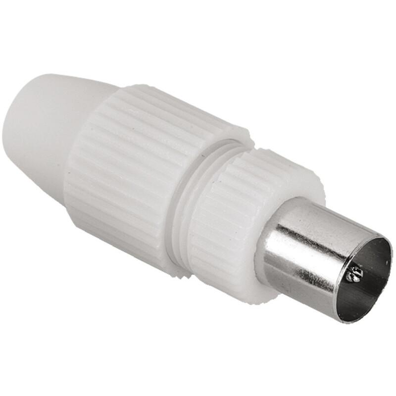 Hama 44147 Antennen-Stecker Koax, klemmbar