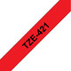 Brother TZE-421 Band rot/schwarz 9mm