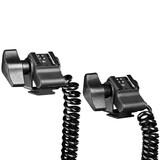 walimex 2-fach Spiral-Blitzkabel Canon E-TTLII