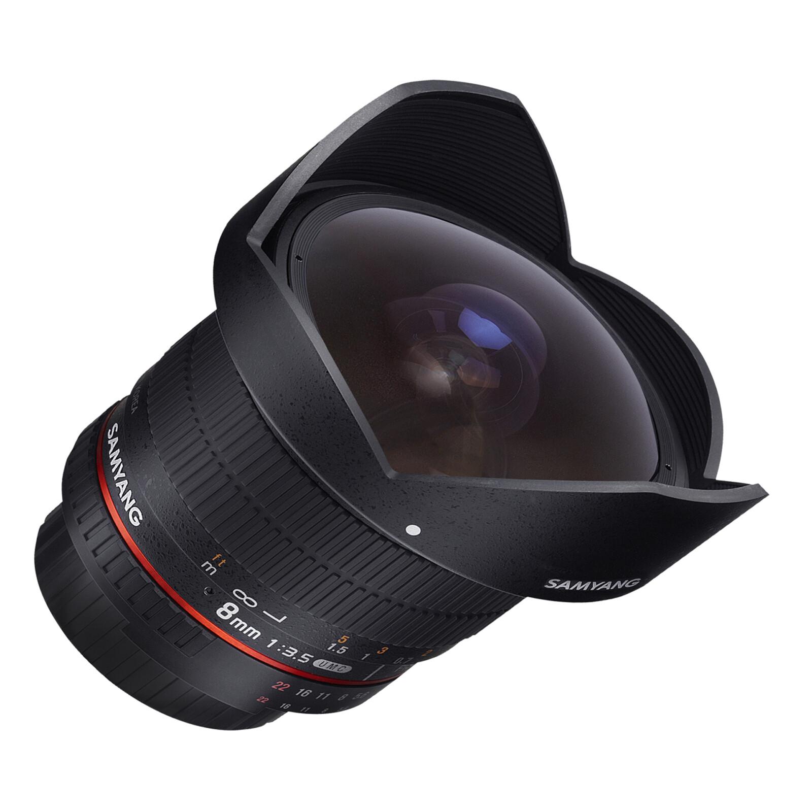 Samyang MF 8/3,5 Fisheye II APS-C Canon EF-S