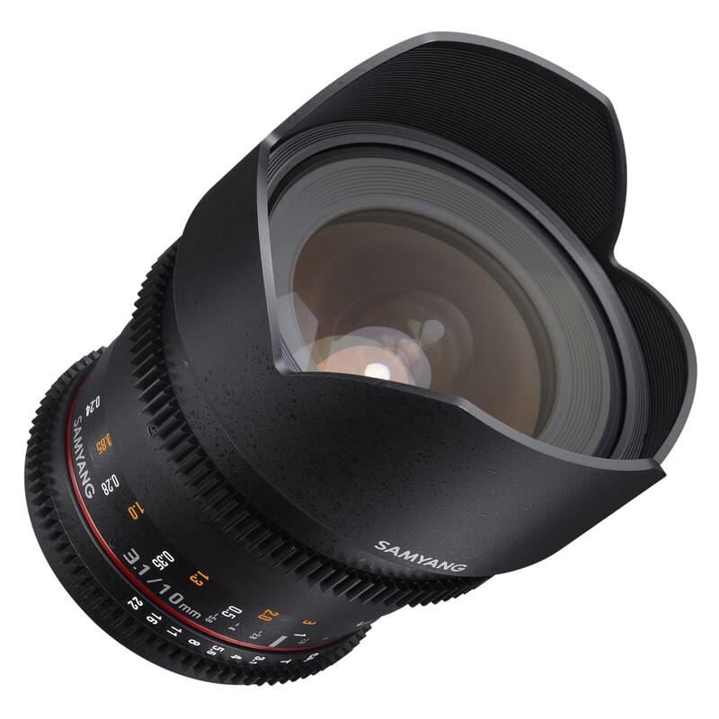 Samyang MF 10/3,1 Video APS-C Nikon F