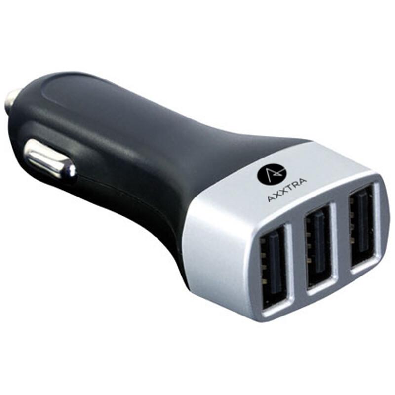 Axxtra KFZ Ladegerät mit 3x USB Anschluss