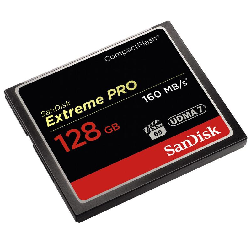 San CF 128GB Extr Pro 160MB/s 2er Pack