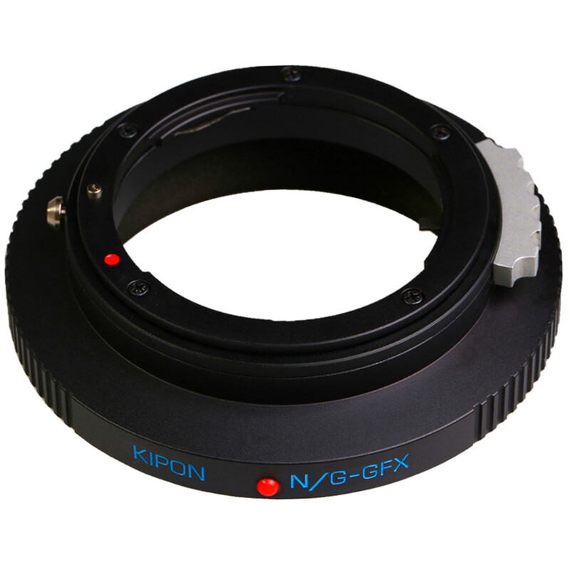 Kipon Adapter für Nikon G auf Fuji GFX