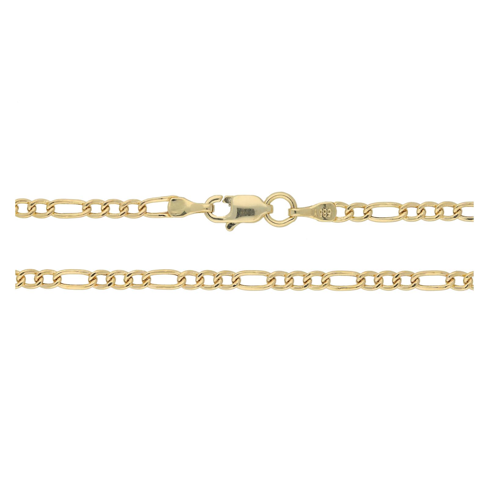 Goldfigarokette 50cm