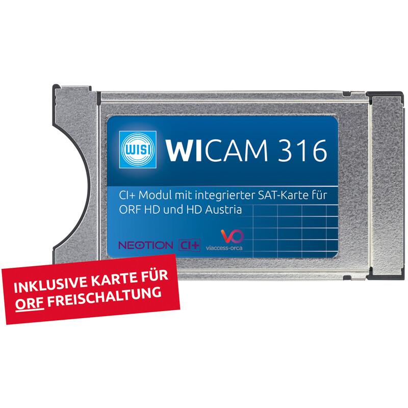 Wisi Wicam 316 CI+ Modul mit integr. Smartcard