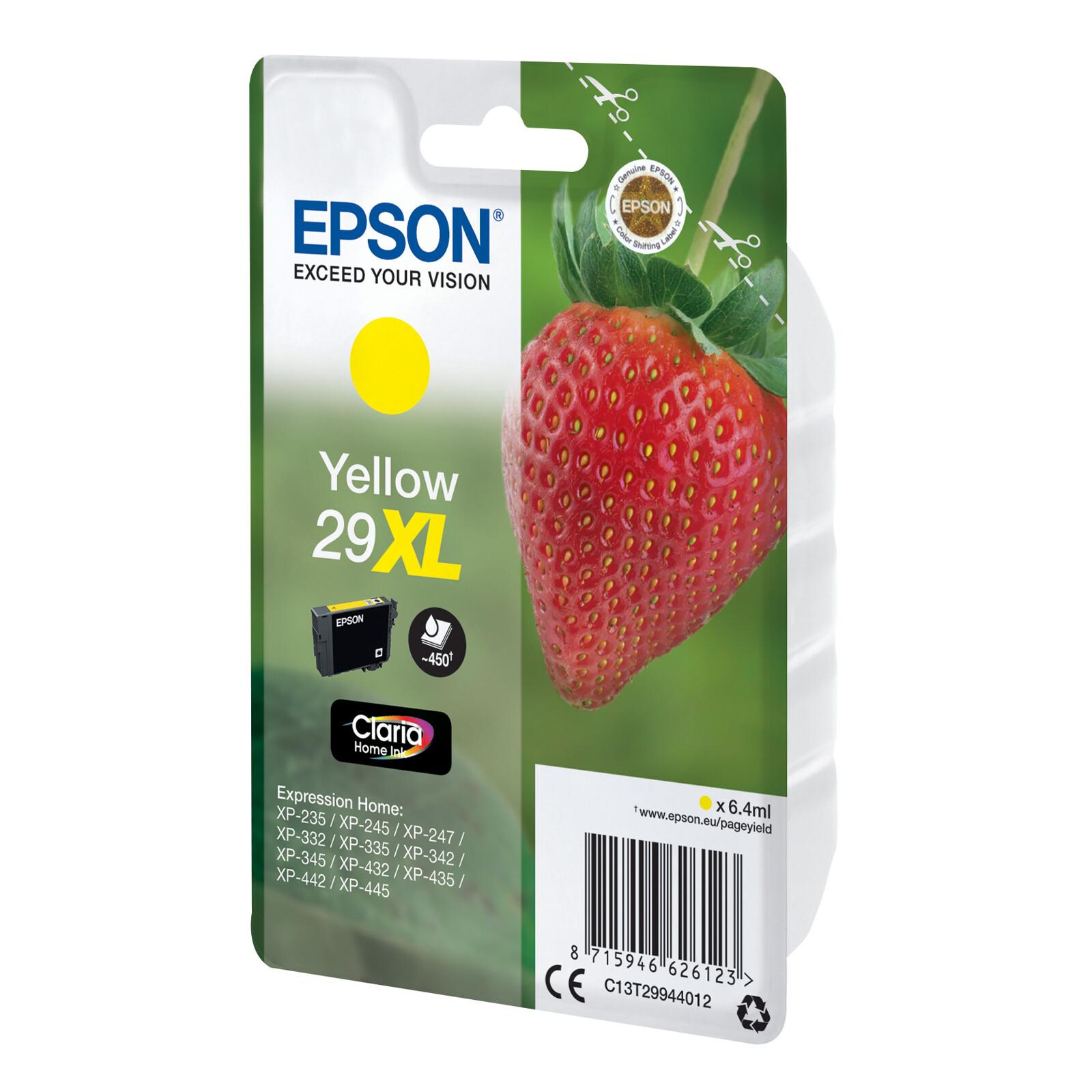 Epson 29XL T2994 Tinte Yellow 6,4ml