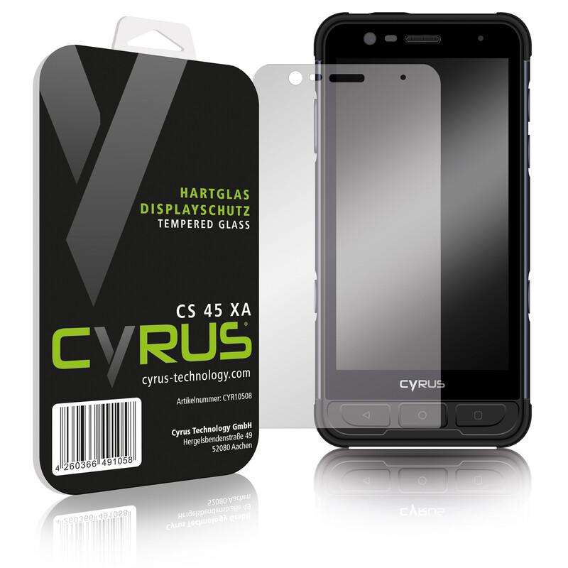 Cyrus Hard Glas CS45 XA Displayschutzglas
