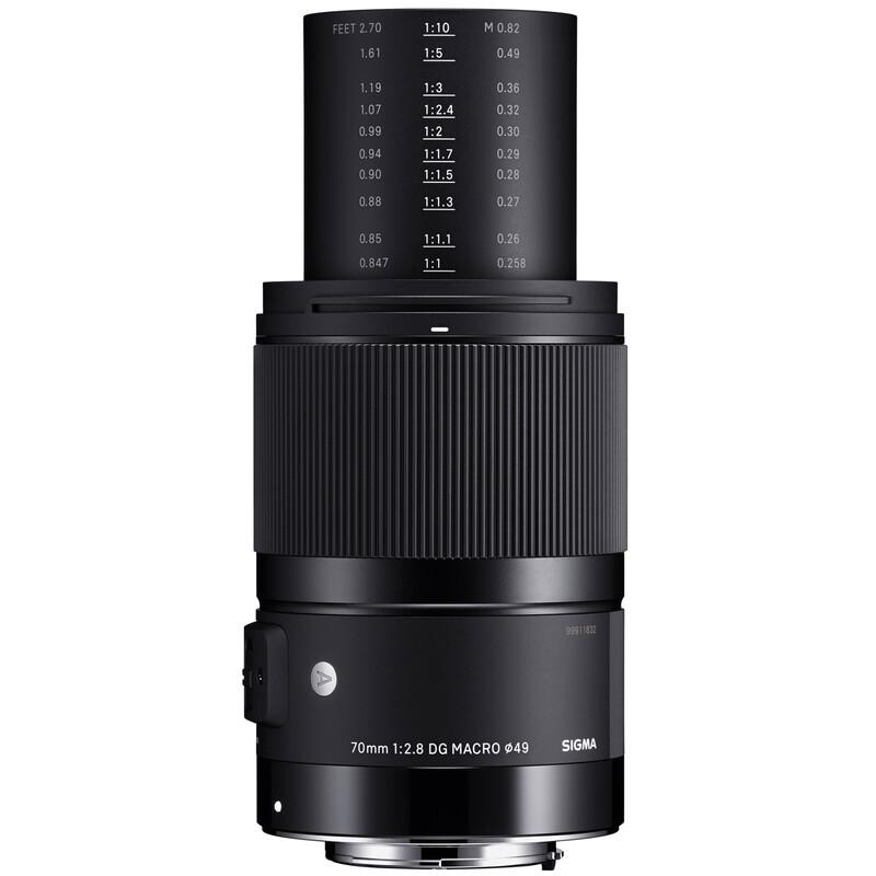 Sigma ART 70/2,8 DG Makro Sigma + UV Filter