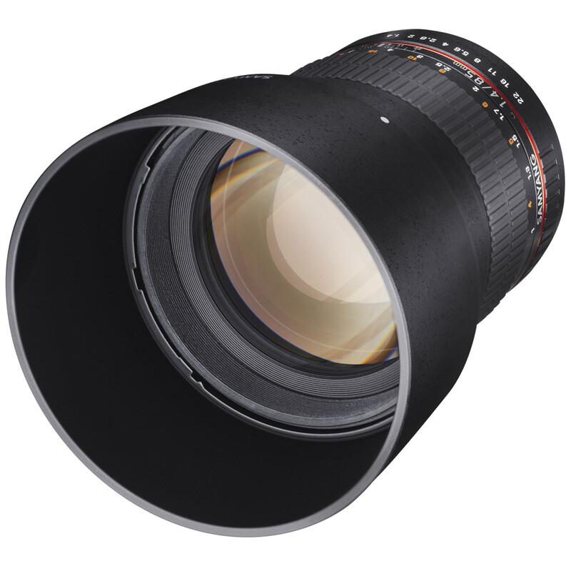 Samyang MF 85/1,4 AS IF UMC MFT + UV Filter