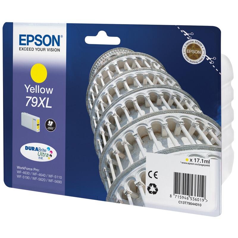 Epson 79XL T7904 Tinte Yellow 17,1ml