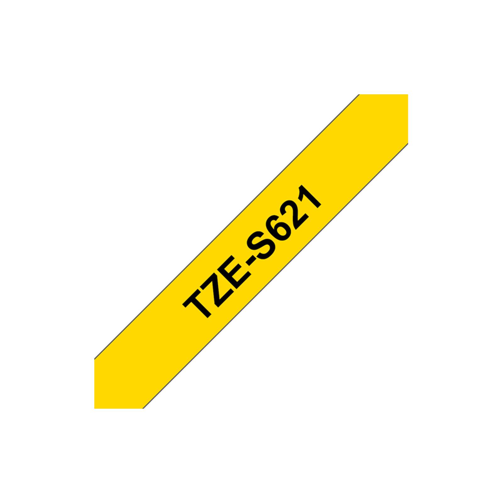 Brother TZE-S621 Band gelb/schwarz 9mm