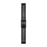 Garmin Quickfit 22 Uhrenband DLC-Titan schiefergrau