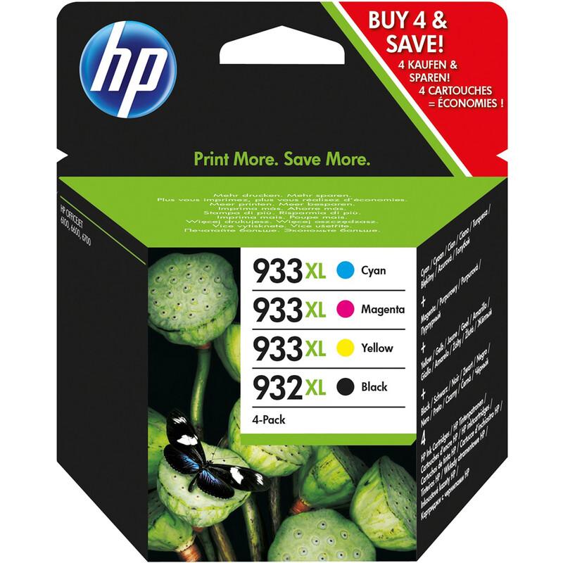HP 932XL/933XL C2P42AE BK/C/M/Y
