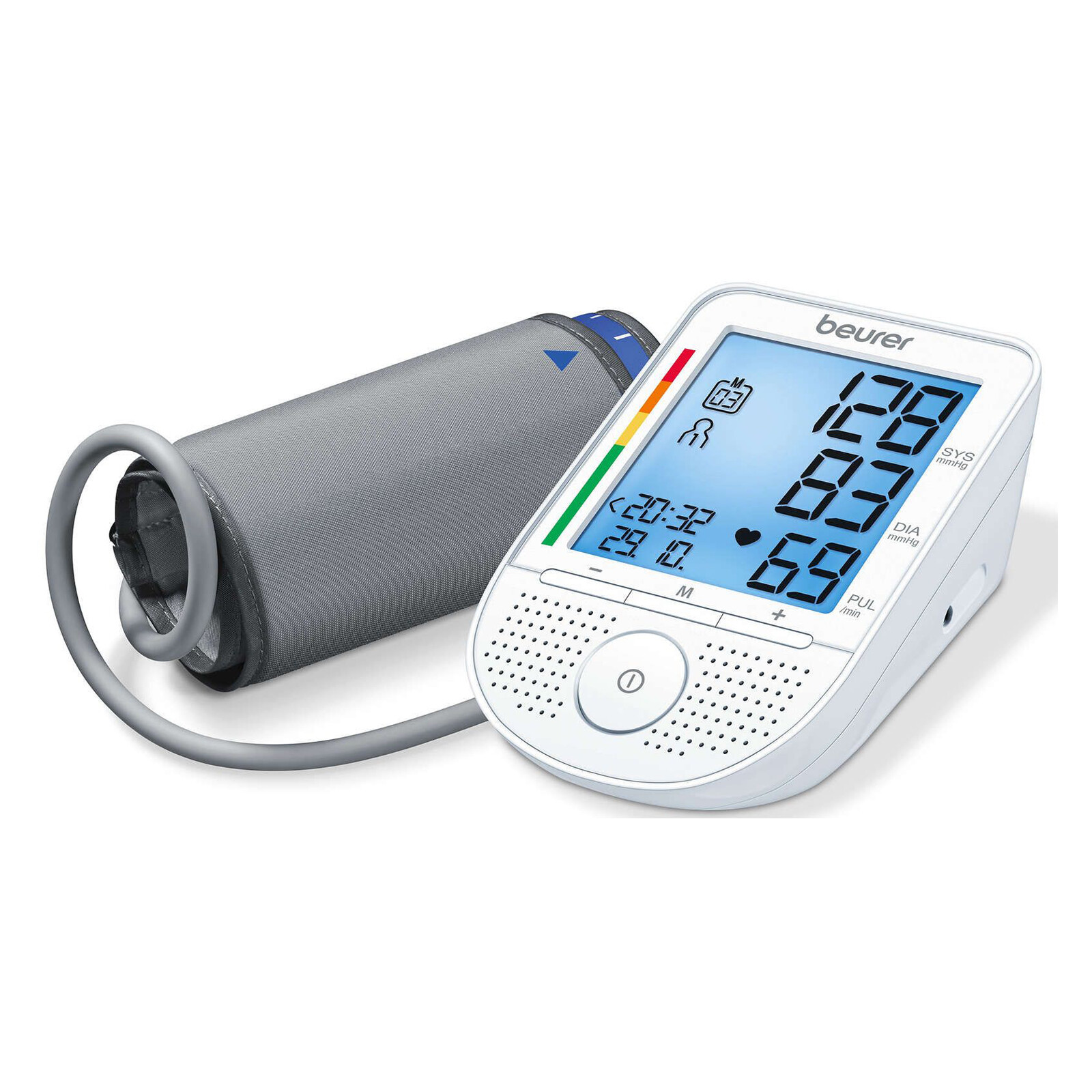 Beurer BM 49 Voice Blutdruckmessgerät Oberarm