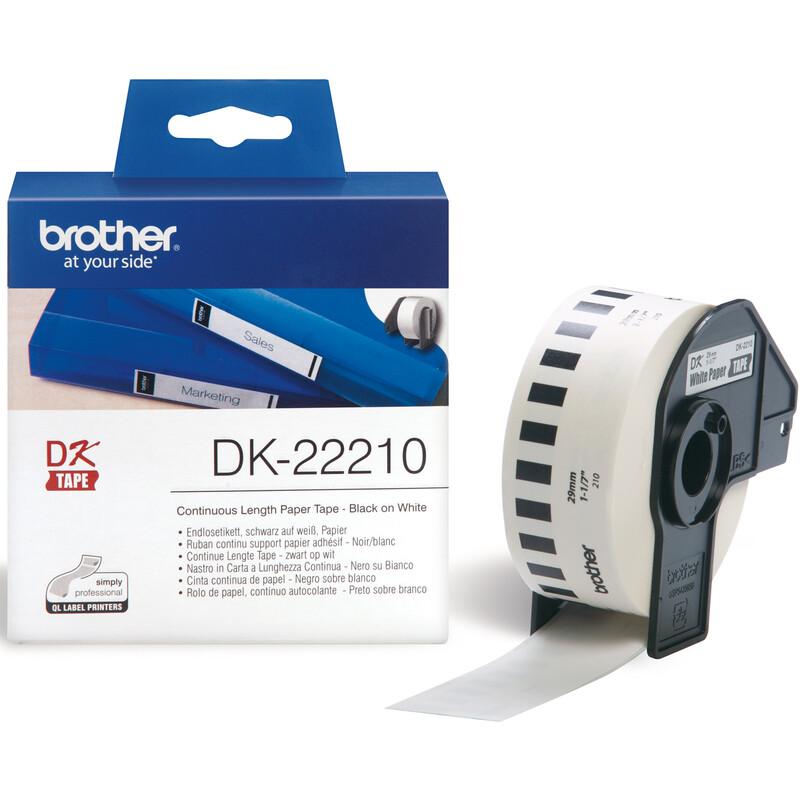Brother DK-22210 Endlos-Etiketten
