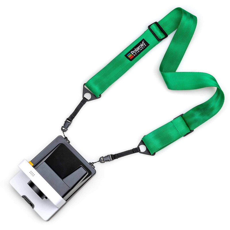 Polaroid Camera Strap Flat Grün