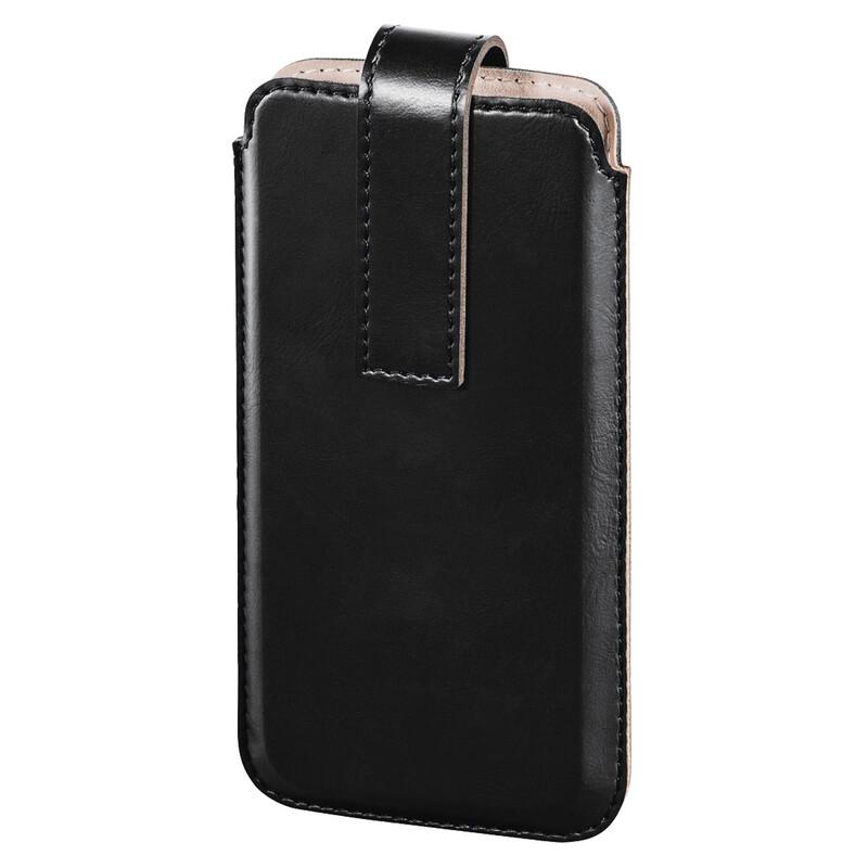 Hama 177606 Smartphone Sleeve Slide XXL Black