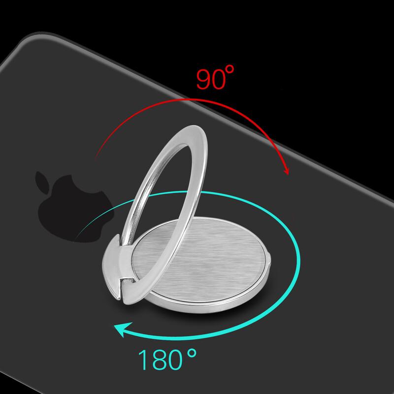 Felixx Ultraslim Smartphone Ring Silber