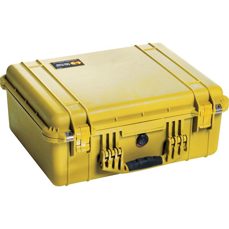 PELI 1550 Case mit Schaumstoff yellow