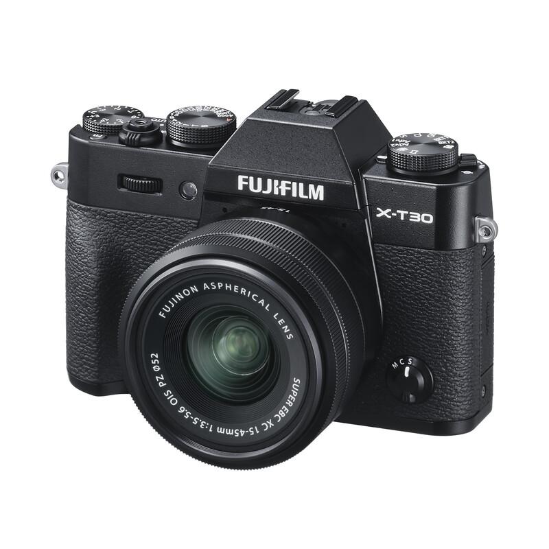 Fujifilm X-T30 + XC 15-45 + XC 50-230 OIS KIT schwarz