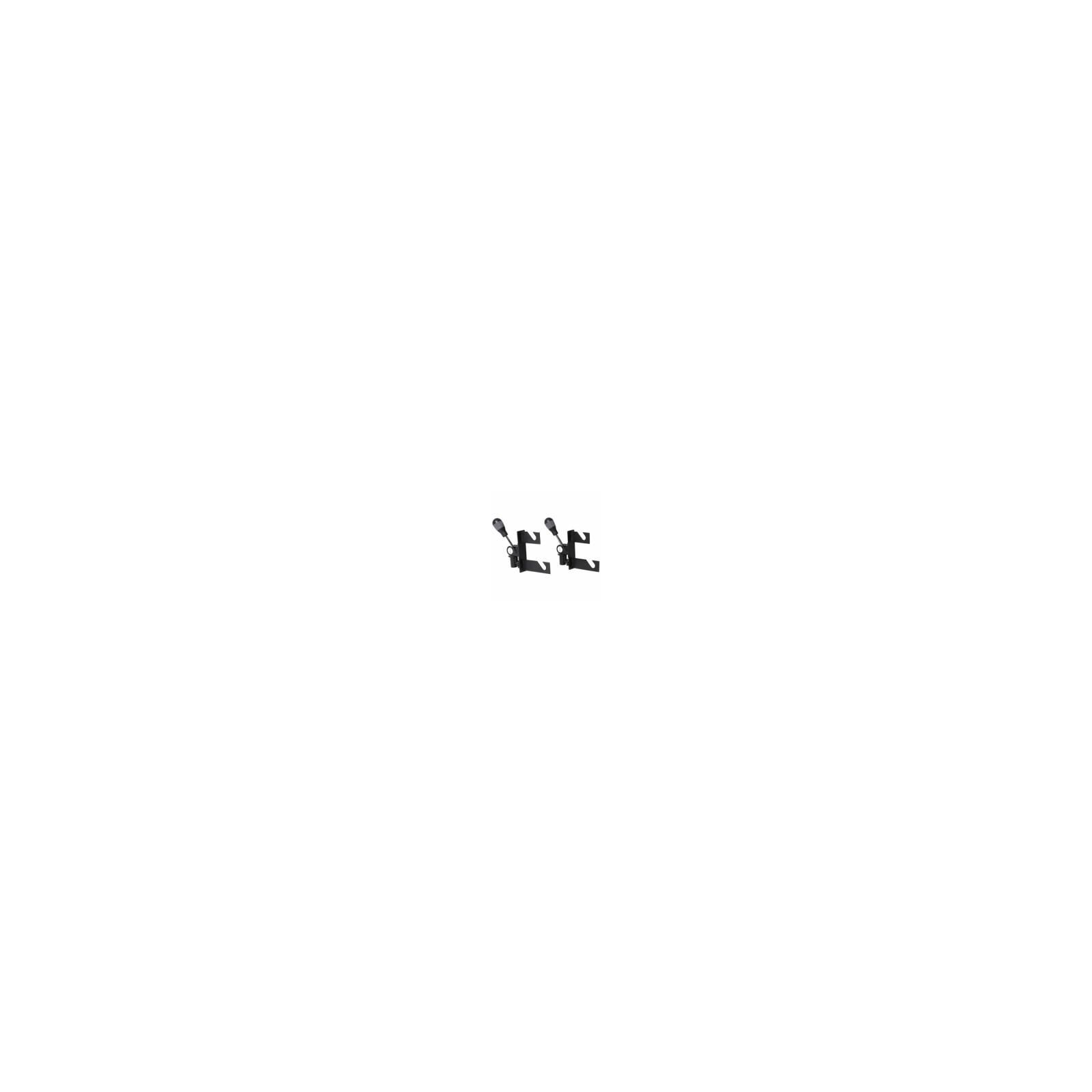walimex 2-fach Hintergrundhaken für Spigot,2er Set