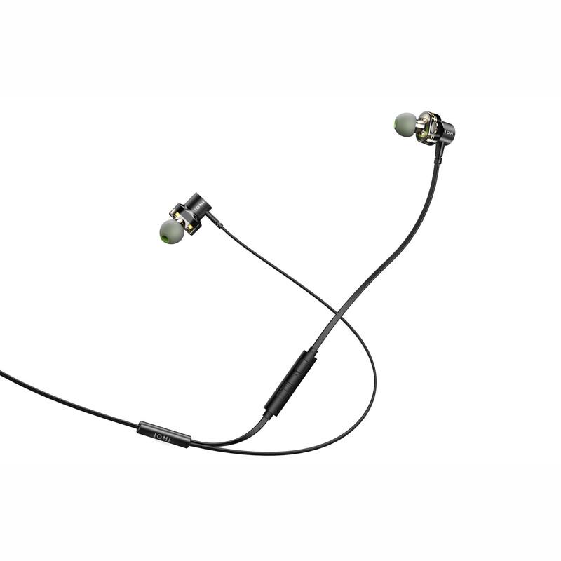 IOMI Sportkopfhörer kabelgebunden schwarz