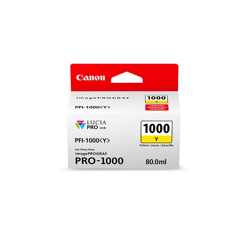 Canon PFI1000Y yellow imagePrograf Pro 1000