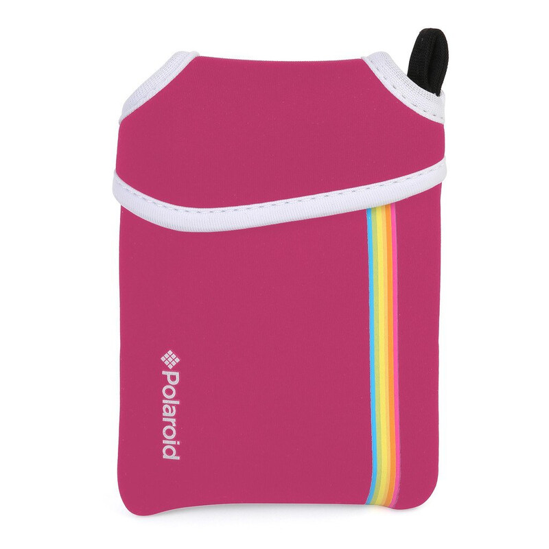 Polaroid Snap Neoprentasche pink