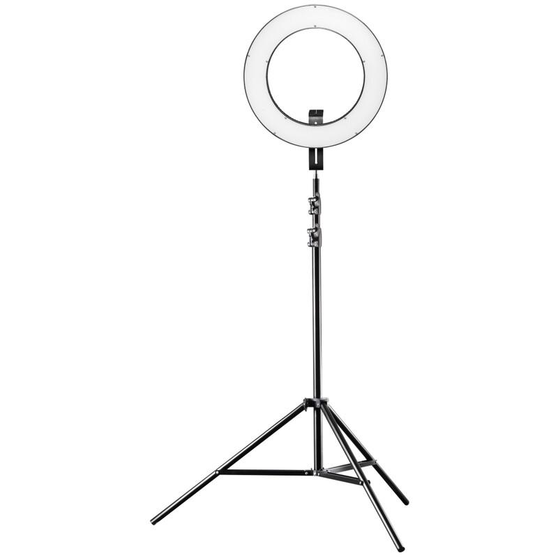 Walimex pro LED Ringleuchte 380 Bi Color Set