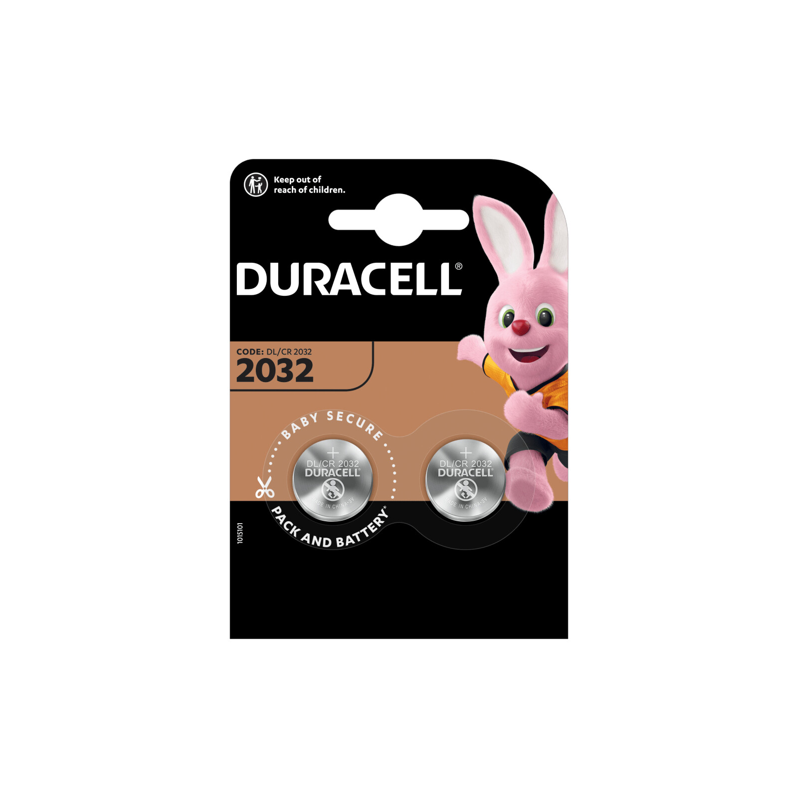 Duracell DL 2032 Lithium Coin 2er