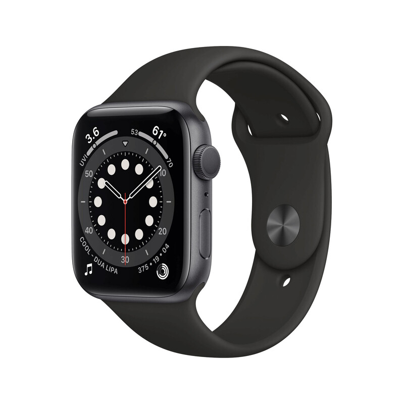 Apple Watch Series 6 Cellular Alu grau 40mm schwarz