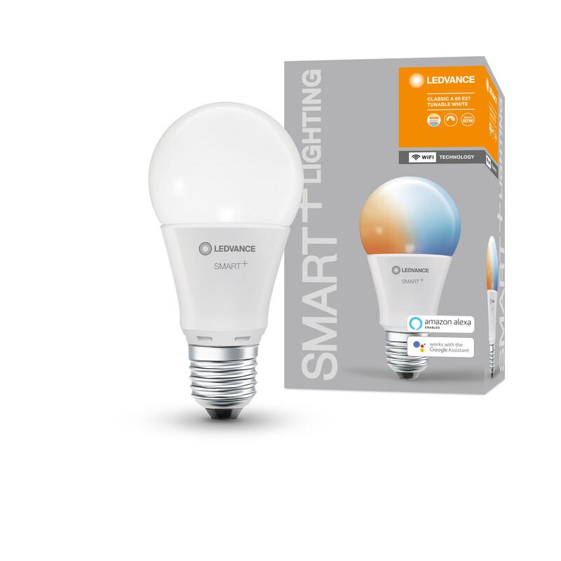 Ledvance Smart+ WiFi Classic A60 TW E27