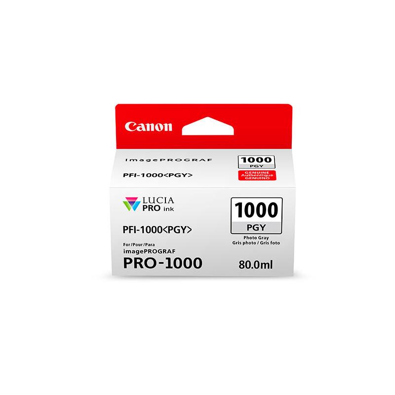 Canon PFI1000PGY photo grey imagePrograf Pro 1000