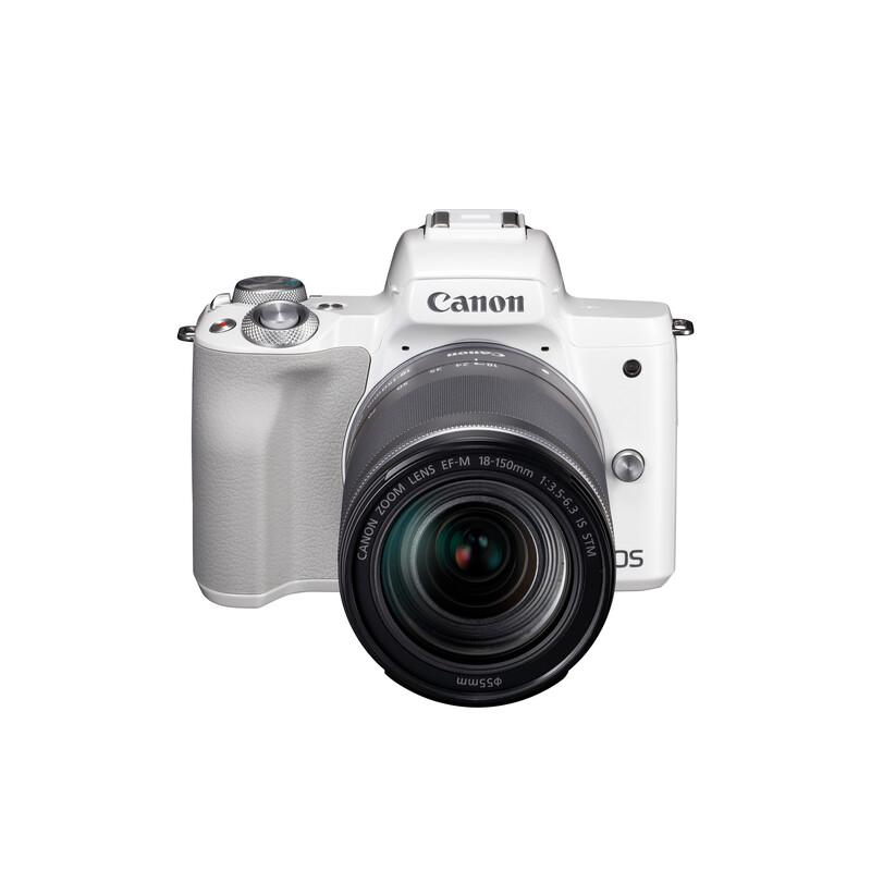 Canon PARS SIP EOS M50 + EF-M 18-150/3,5-6,3 IS STM Weiß