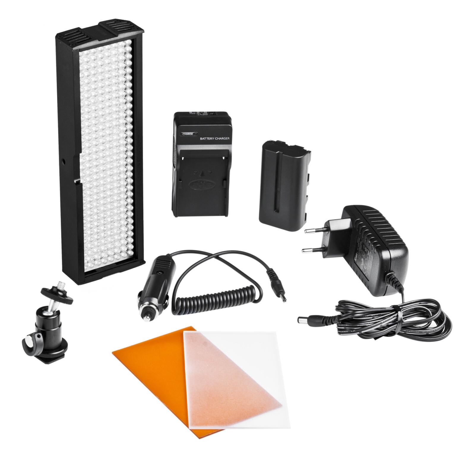 walimex pro LED-Videoleuchte mit 256 LED