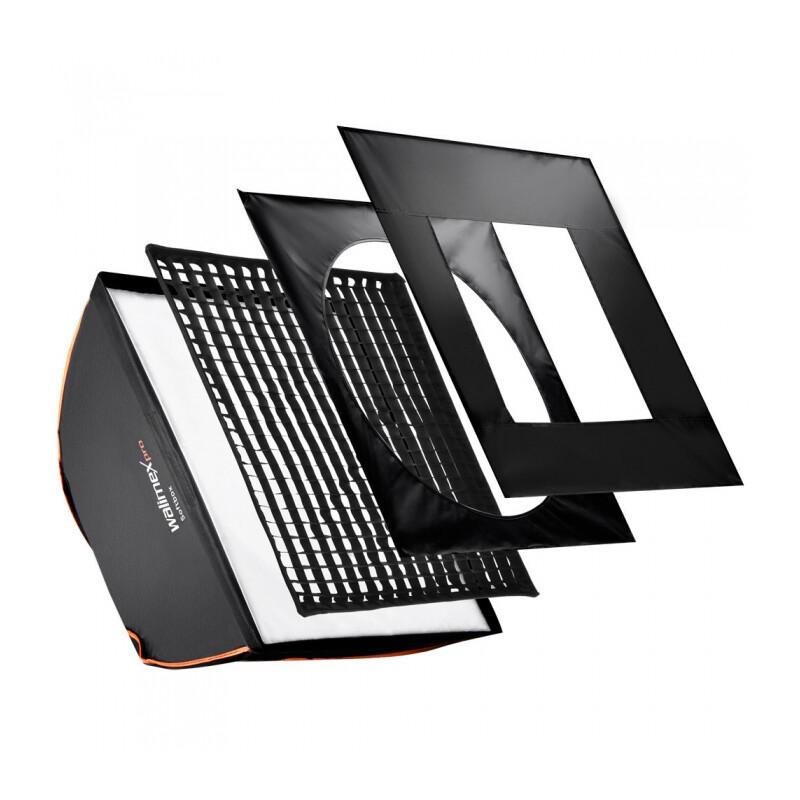 walimex pro Softbox PLUS OL 90x90cm &K