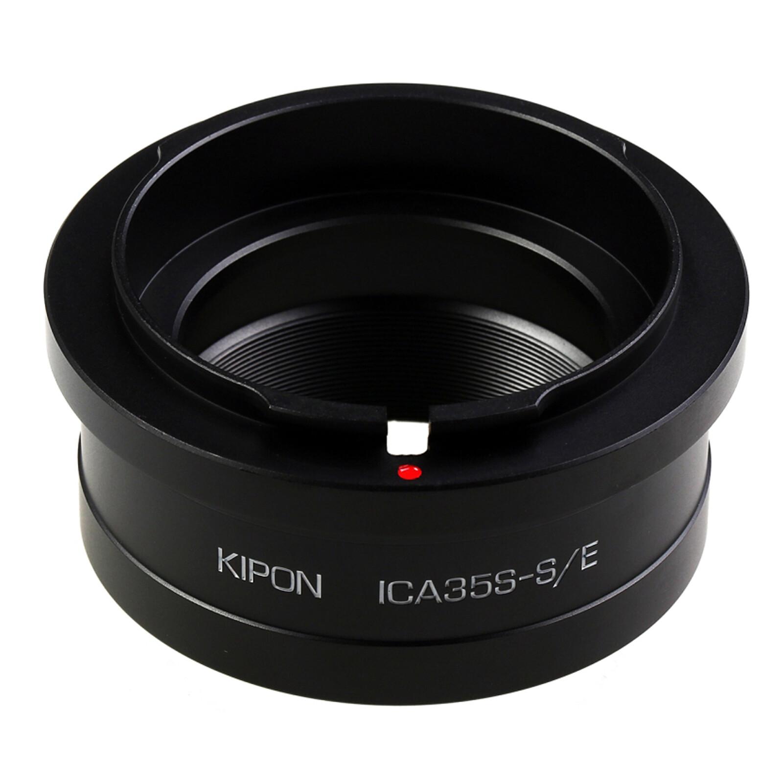 Kipon Adapter für Icarex 35S auf Sony E