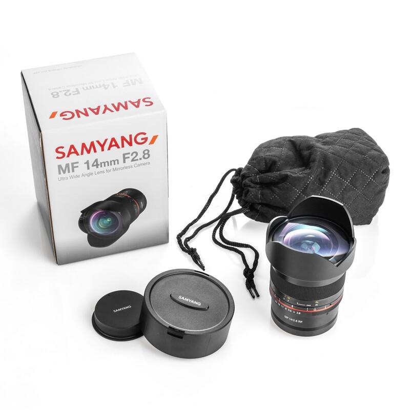 Samyang MF 14/2,8 RF Canon EOS R