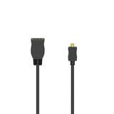 HAMA 20516 Kabeladapter HDMI Kupplung Typ D Micro