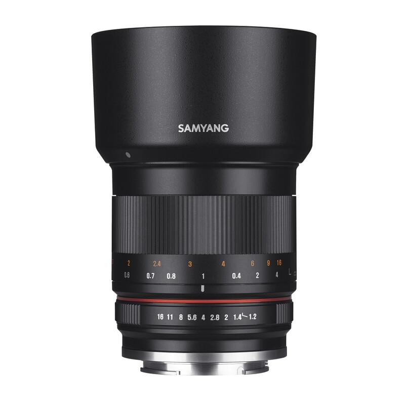 Samyang MF 50/1,2 Canon M schwarz
