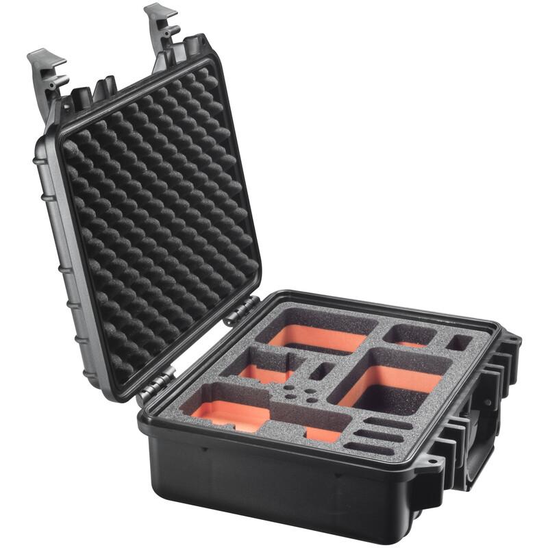 mantona Outdoor Schutz-Koffer M + Einlage f. GoPro