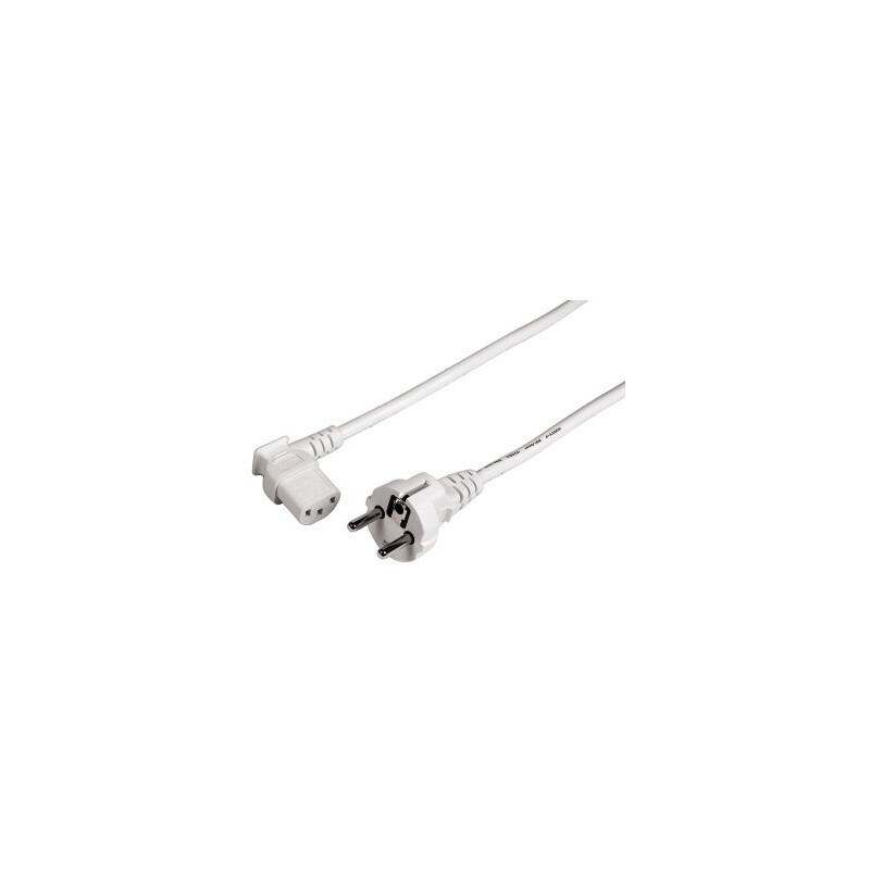 Hama 47831 Kaltgeräte-Zuleitung 3m weiß
