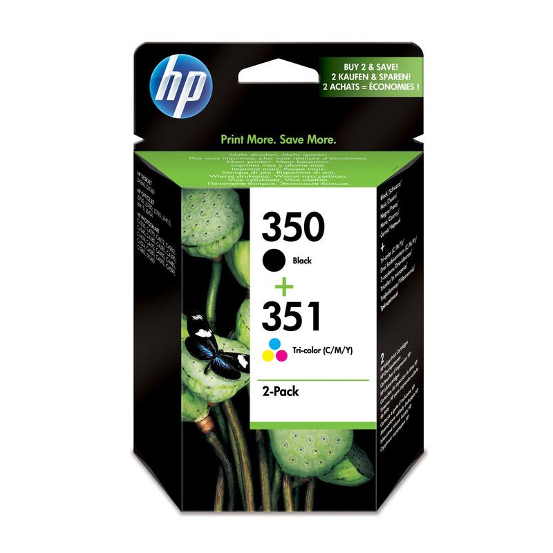 HP 350+351 SD412EE 2er Pack