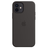 Apple iPhone 12/12 Pro Silikon Case mit MagSafe