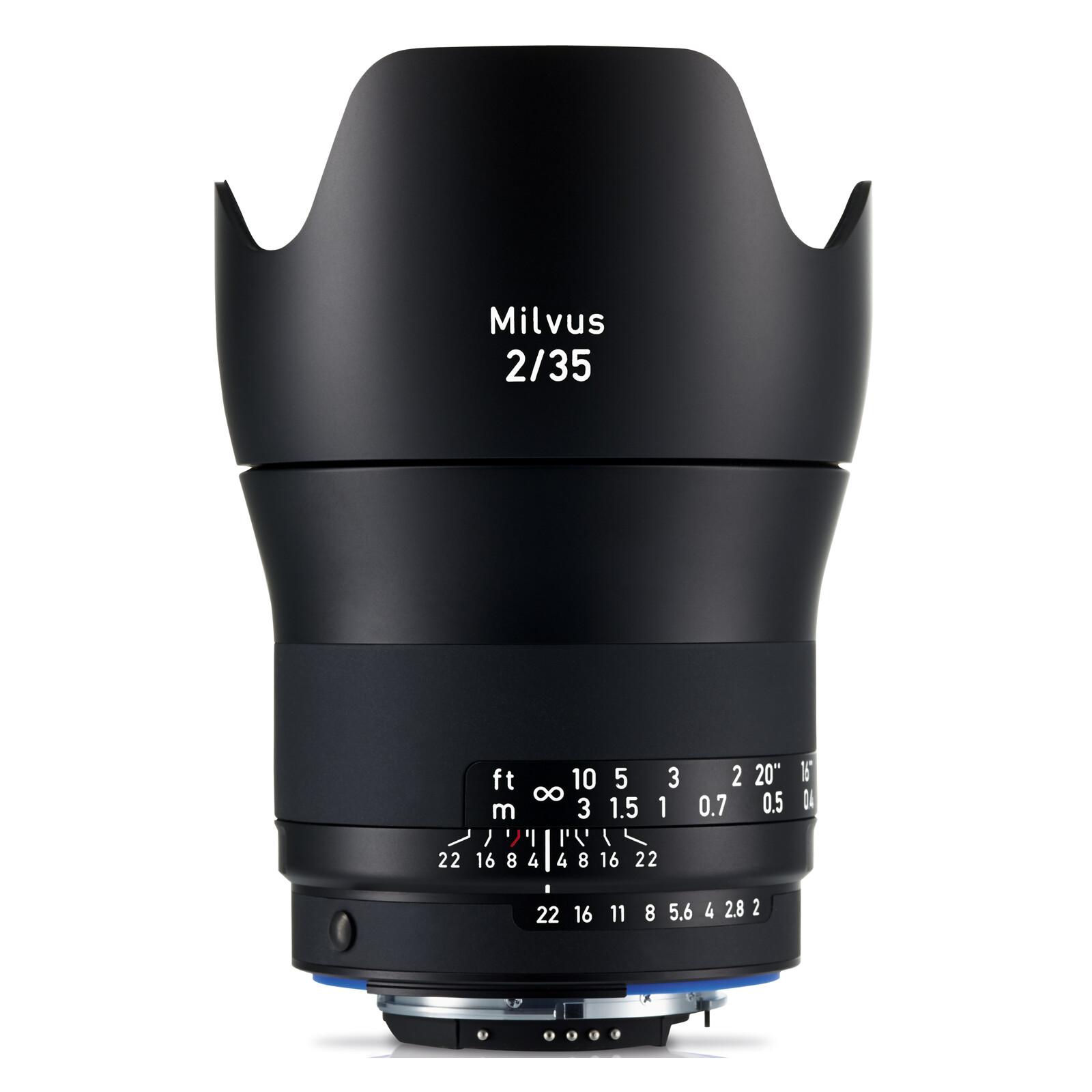 Zeiss Milvus 35/2,0 ZF.2 Nikon + UV Filter