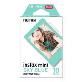 Fujifilm Instax Mini Blue Frame 10 Aufnahmen